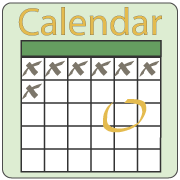 Navigational button to Calendar