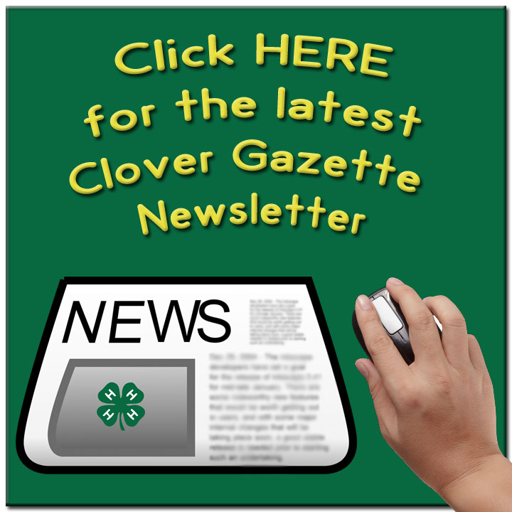 Click for the Clover Gazette newletter