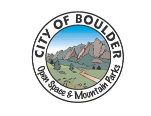 City of Boulder Open Space and Mountain Parks logo