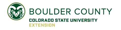 Boulder County Extension